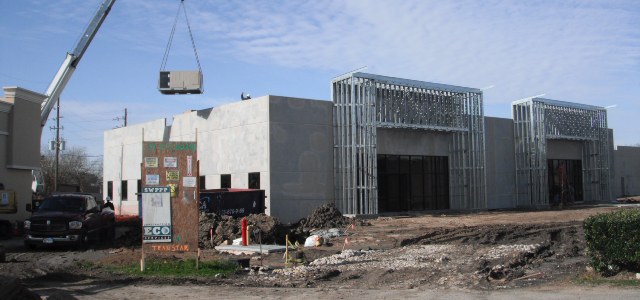 Tilt Wall Construction Company in Houston